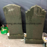 Natural Black/Aurora/G654/Grey Granite Stone Monument Cemetery Tombstone with Upright Headstone