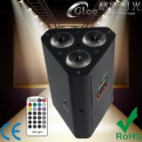 RGBWA+UV 6in1 LED Battery Powered Wireless Remote PAR Light