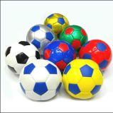 Custom Logo Printed Synthetic Leather PVC Cheap Soccer Ball
