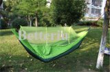 Backpacking Hammock Camping with Mosquito Net