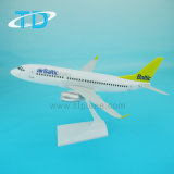 B737-300 1/100 33.4cm Airbaltic Decoration Scale Plane Model