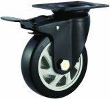 4/5 Inch PVC Caster Wheels for Trolley Swivel/Fixed/Brake