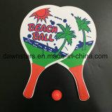 Cheap OEM Beach Paddles Set with Balls, Tennis Rackets for Beach Game