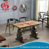 Modern Restaurant Dining Metal Table (T-104)