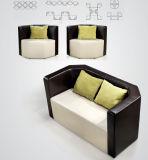 Modern Office Salon Leather Lobby Sitting Waiting Room Sofa