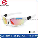 Custom Outdoor Sports Sunglasses Logo Printing UV400 Protective Unbreakable Biking Cycling Racing Running Eye Glasses
