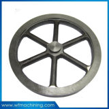 Sand Cast Foundry Iron Casting Flywheel with Customized Service