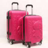 Cute ABS+PC Hardcase Hello Kitty Luggage Set