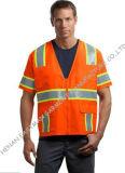 High Visibility Uniform Reflective Tape Orange Safety Workware