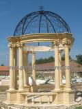 Stone Marble Garden Gazebo Tent for Outdoor Furniture (GR068)