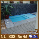 Hot Sale WPC Decking for Swimming Pool, Outdoor Flooring Tiles