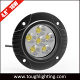 "4.5"" 18W Round Offroad LED Truck Work Lights with Flush Mount"