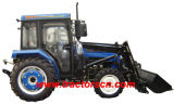 Tractor with Cab and Front End Loader (Jinma 504)