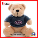 Customize Logo Soft Plush Stuffed Teddy Bear with T Shirt