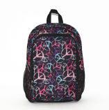 Pattern Polyester Fabric Leisure Promotion School Backpack in Good Price