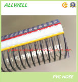 PVC Spiral Steel Wire Reinforced Water Spring Hose