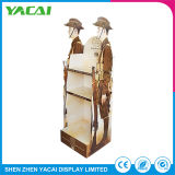 Recycled Paper Security Floor Display Stand Exhibition Stands