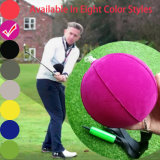 Rose Red Color PVC Golf Action Training Air Inflation Golf Ball