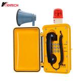 Heavy Duty Industrial Waterproof Tunnel Emergency Broadcast Loudspeaker Telephone