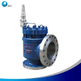 Conventional API 526 Orifice Design High Perfomance Pilot Operated Safety Valve