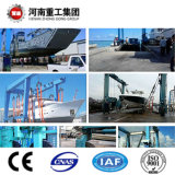 ISO Standard Popular 50t-500t Boat Handling/Lifting Rubber Tire Gantry Crane