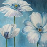 Blossoming Floral Paintings - Canvas Wall Arts