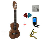 Aiersi Hot Selling Factory Price Electric Koa Guitarlele with Tuner