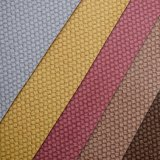 Colorful Weave Basket Printed PVC Coated Leather for Bag