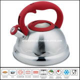 Nylon Handle Flower Pattern Induction Water Kettle Kitchenware
