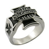 Popular Fashion Jewelry Accessories 925 Sterling Silver Cross Ring