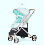 Baby Stroller High Landscape Two-Way Sit Is Portable Baby Carriage Three Round Shock Children Trolley