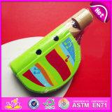 High Quality Good Kids Wooden Flute, Hot Sale New Design Cheap Children Musical Instrument Wooden Flute W07D014