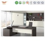 Factory Direct Price OEM Customized Green Material Veneer Finished Office Executive Table Boss Desk