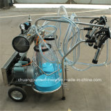 Cow Milking Machine with Measuring Calibration Milking Buckets