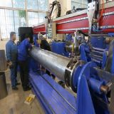 Solar Water Tank Longitudinal TIG Welding Machine