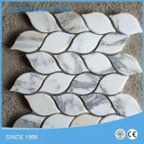 Popular White Ariston Marble Mosaic Tiles for Floor/Wall Cladding