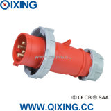 Qixing High-End Industrial Plug 400V 16A 4p 6h IP67