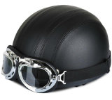 ABS Sports Half Face Helmet Match with Goggles (MH-013)