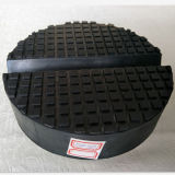Trolley Rubber Saddle Pad Block Jacking Pads with Small Slot