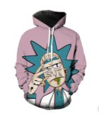 Cosmos Rick and Morty Sweatshirts Men Women Street Wear Hipster Pullovers Funny Scientist Rick 3D Print