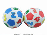 Number Soft Stuffed Football 32 Panels Sewing with Bell Inside