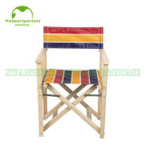 Portable Folding Canvas Wooden Director Chair Outdoor Chair