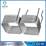 304 Square Type Coiled Stainless Steel Tube for Heat Exchanger