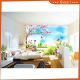 Beautiful Scenery of Spring Oil Painting for Kids Rooms
