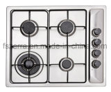 Stainless Steel Built-in 4 Burners Good Quality Gas Stove Jzs54104
