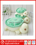 Cute Baby Plush Velvet Turtle Toy with CE