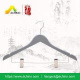 Wooden Clip Hangers for Men (WCH103-Grey)