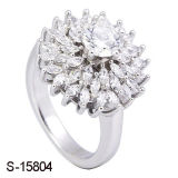 Imitation Jewelry Wedding Ring Sterling Silver CZ Rings