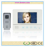 7 Inch TFT Touch Screen Color Video Doorbell with CMOS