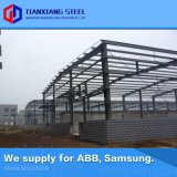 ASTM Heavy Prefab Steel Frame Structure Fabrication Pre Engineered Metal Structural Building Steel Workshop (exported 160, 000MT)